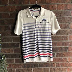 Stylish NIKE golf shirt!! Size small